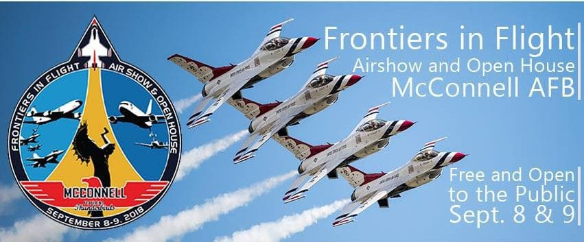 Frontiers in Flight air show at McConnell AFB 2018