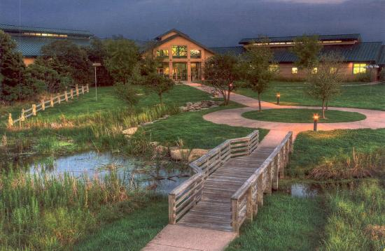 Great Plains Nature Center (GPNC) evening image
