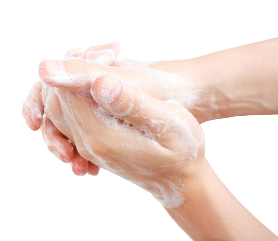 Preventing illness, hand-washing is important
