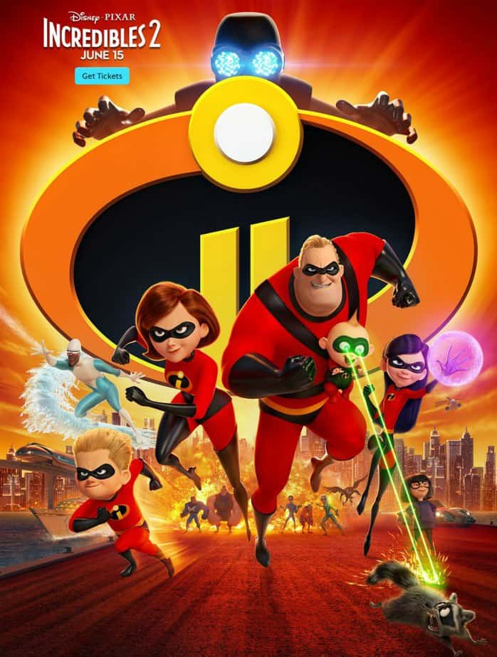 Incredibles 2 showing in Wichita