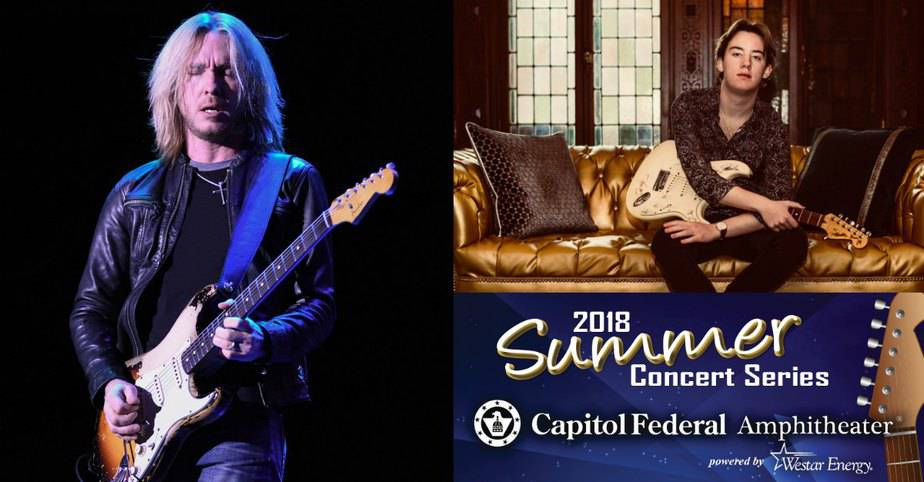 FREE concert at Andover Amphitheater with Kenny Wayne Shepherd
