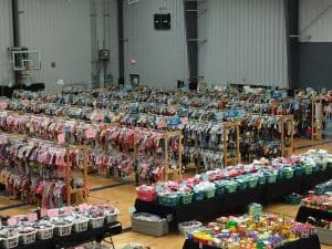 consignment clothes shopping