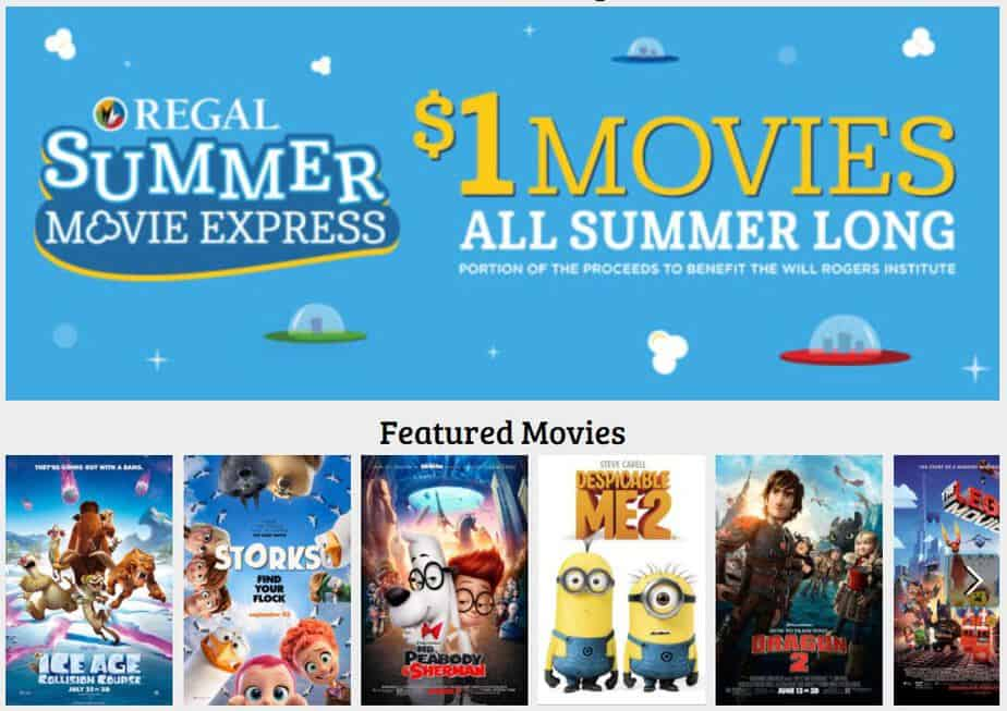 SUMMER MOVIE PRICES