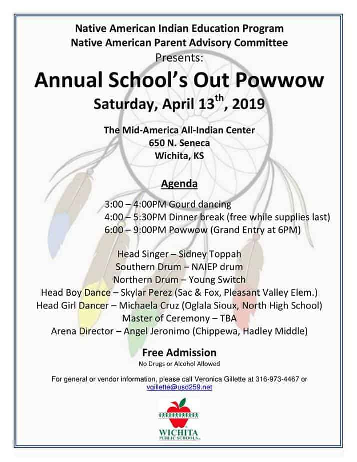 2019 Schools Out Powwow at Indian Center in Wichita