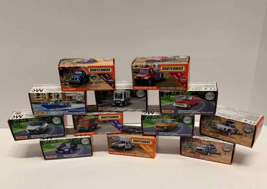 Awesome Toy Sale Matchbox cars for 75 cents each