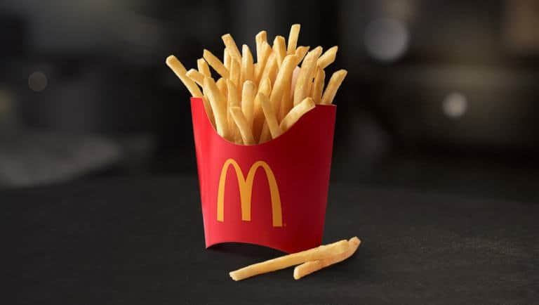 Free McDonald's fries every Friday with app