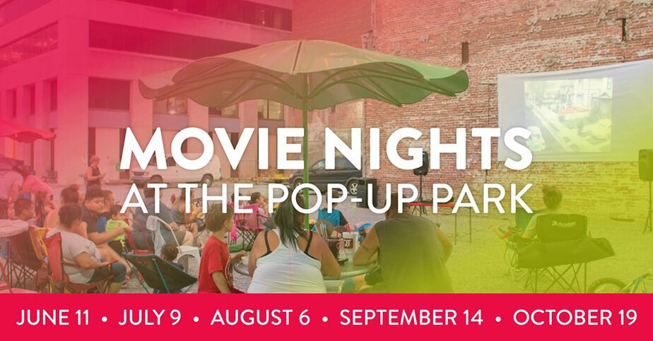 Movie Nights at the Pop-Up Park ICT