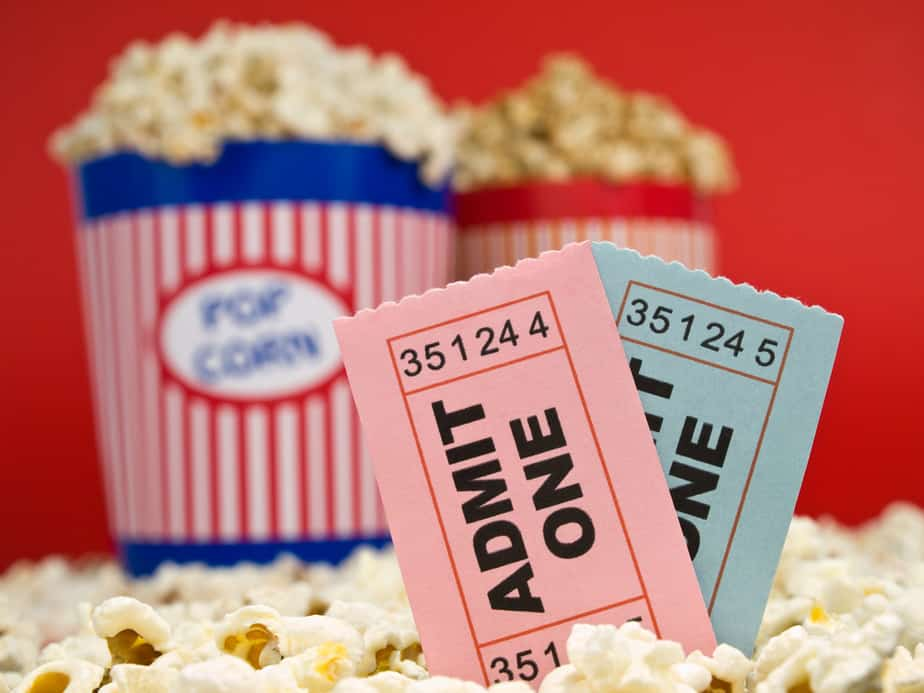 Movie theater concessions and ticket discounts