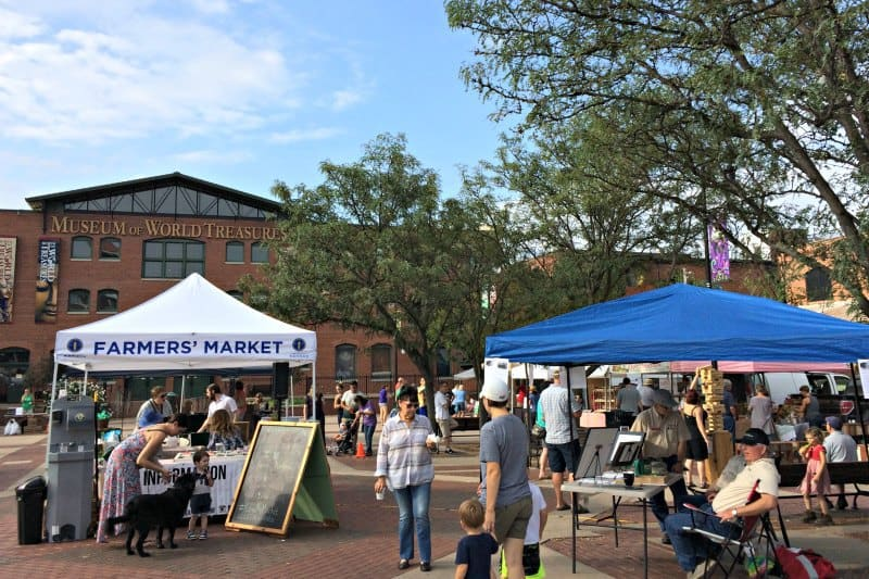 Old Town Farmers Market Saturday mornings Wichita KS