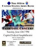 Free patriotic concert at new Andover amphitheater