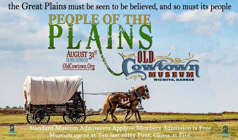 People of the Plains Labor Day event at Old Cowtown Museum in Wichita flyer