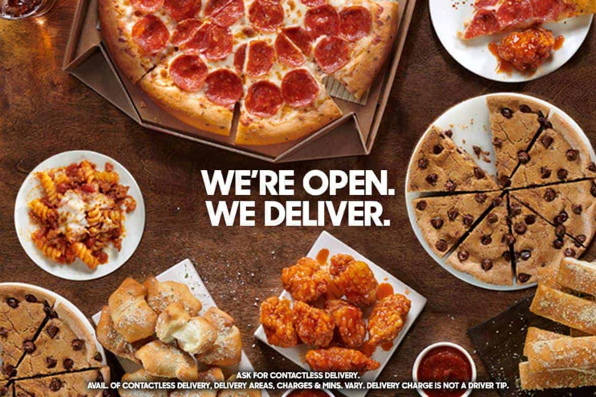 Pizza Hut Get Large Three Topping Pizza For Just 10