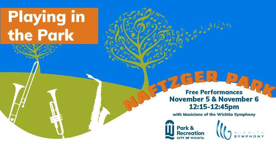 Newly added performances of live orchestra music in Naftzger Park this November 2020