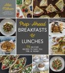 Free enrollment in meal prep cooking class with purchase of Prep Ahead Breakfasts and Lunches cookbook