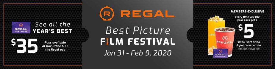 Regal Movies Best Picture Film Festival 2020