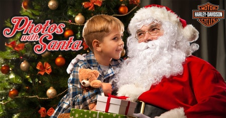 pictures with santa at harley davidson wichita
