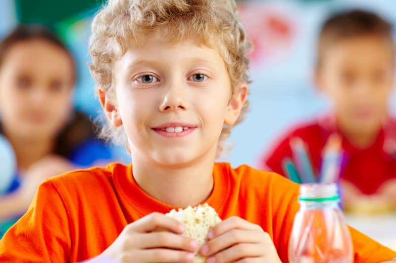 Free meals for kids when school is out