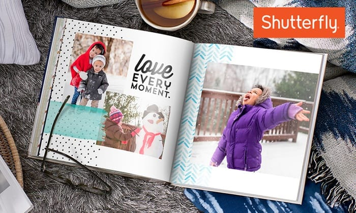 Shutterfly 8x8 photo book - from $5
