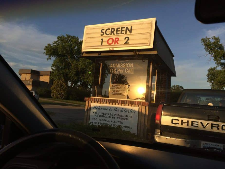 Starlite Drive In in Wichita, KS has been saved from permanent closing