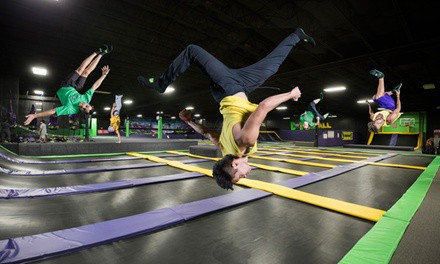 Two or Four Two-Hour Jump Passes, or Flippin' Awesome Party at Get Air