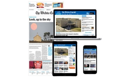 26- or 52-Week Sunday Home Delivery or Digital Subscriptions from The Wichita Eagle (Up to 91% Off).