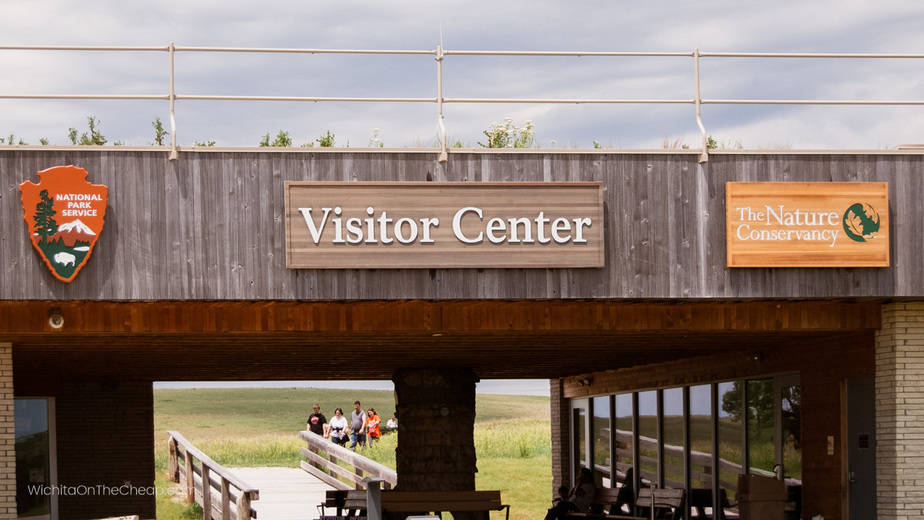 Visitors Center at the Tallgrass Prairie National Preserve