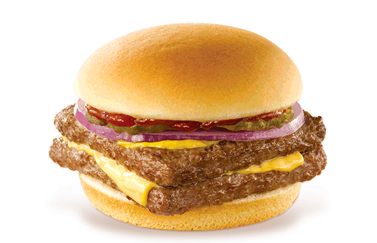 Wendy's burger for $1
