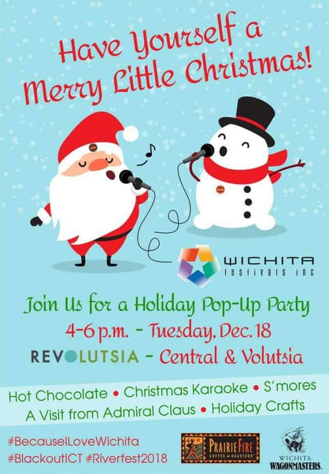 Wichita Festivals Holiday Pop Up Party
