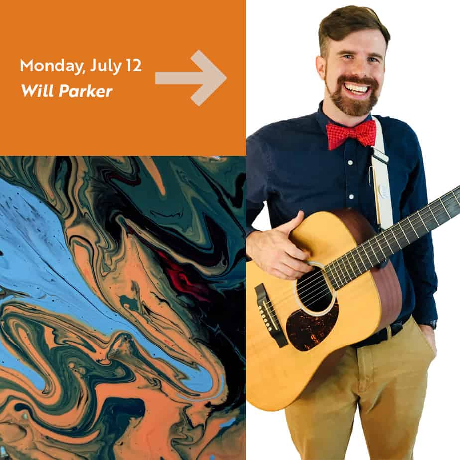 Will Park live performance in Naftzger and Clapp Park, Wichita KS